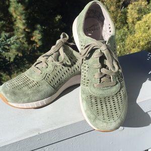 Dansko sage suede sneakers
